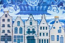 Dutch Delft Blue Souvenir Hous...