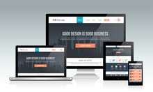 Responsive Website Template On...