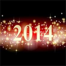 2014 Sylvester Hintergrund Ste...