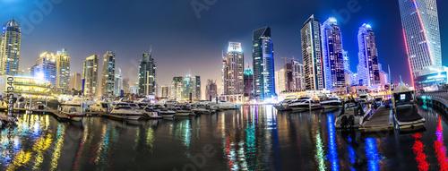 Foto-Kassettenrollo premium - Dubai Marina cityscape, UAE