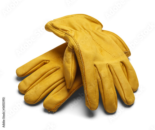 Fotografija  Leather Work Gloves