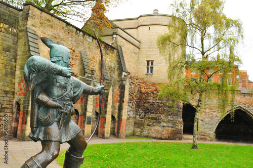 Aluminium Prints Castle Nottingham Castle, UK