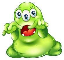 A Green Monster In Horror