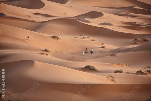 In de dag Marokko Sahara