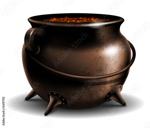 Fotografie, Obraz  Cauldron with potion