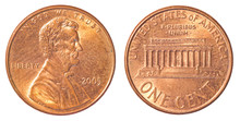 One American Cent Coin