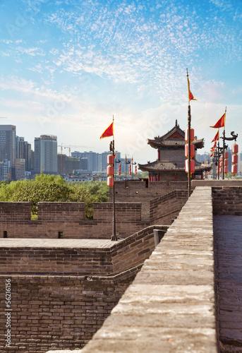 Xian - ancient city wall