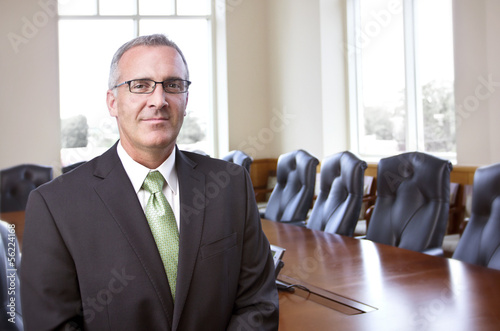 Photo  Confident Businessman portrait