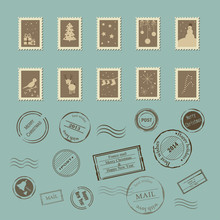 Vector Collection Of Vintage P...