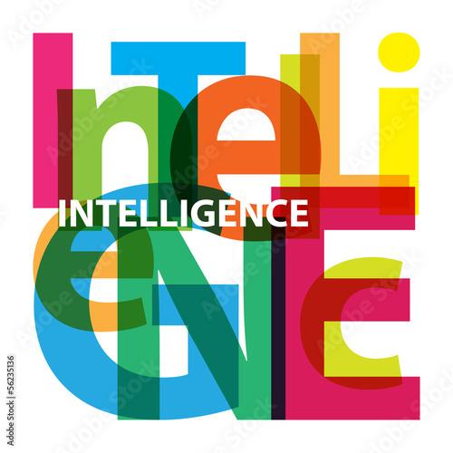 Fotografie, Obraz  Vector Intelligence. Broken text