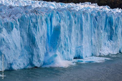Poster Glaciers Perito Moreno kalbt