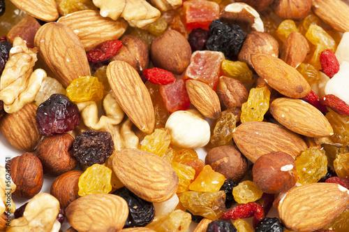 Fruits secs Tableau sur Toile