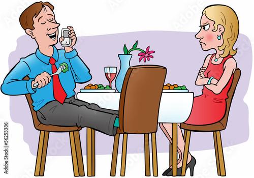 Fotografiet  Dining etiquette