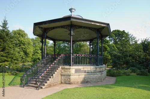 Grand bandstand Canvas Print
