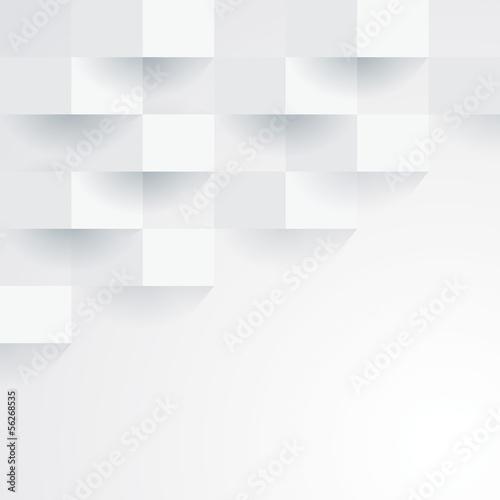 Plakat Biały geometryczny tapetowy tło.