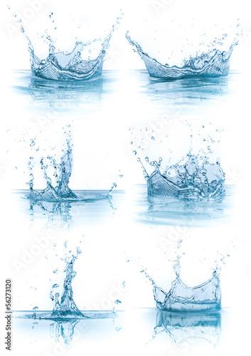 Papiers peints Eau water splash collection