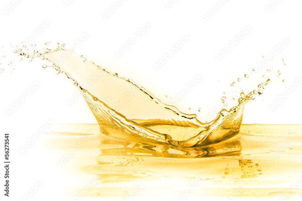 Fototapety, obrazy: orange juice splash