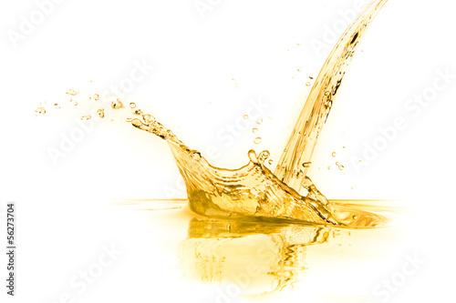 Fotografia  orange juice splash