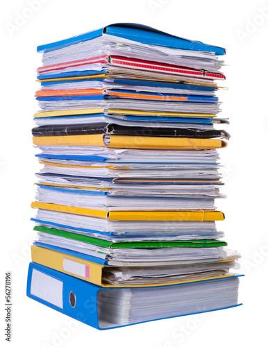 Fotografía  Big stack of paper