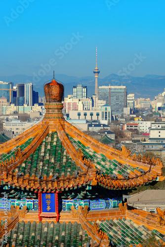 In de dag Beijing Beijing