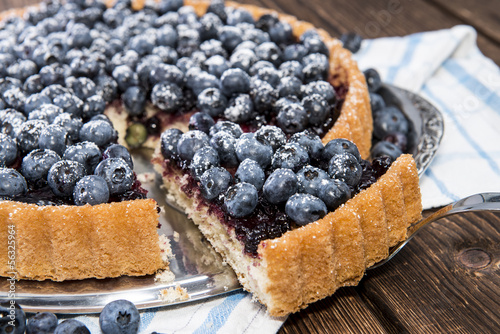 Photo  Delicious Blueberry Tart