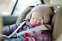 Sweet Toddler Girl Sleeping In...