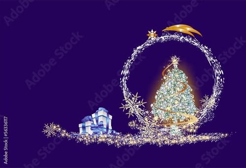 Fototapeta bożonarodzeniowa dekoracja, obraz