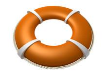 Rescue Lifebuoy Orange