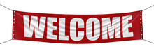 Welcome Banner (clipping Path ...