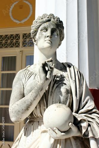 Urania, Greek Muse of Astronomy greek goddess Wallpaper Mural