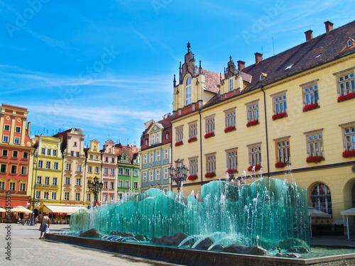 Fotografia  Rynek, Wrocław, Polska