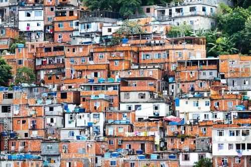 Rio de Janeiro Favela, Brazilian slum in Rio de Janeiro