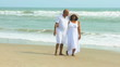 Mature Ethnic Couple Peaceful Retirement Lifestyle