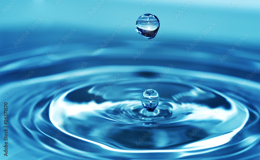Fototapeta Splash water