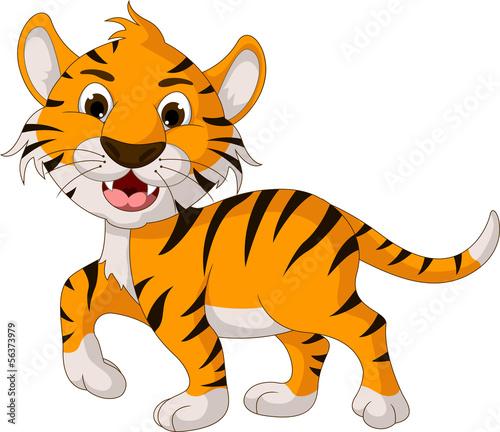 ladny-tygrys-kreskowka-spaceru