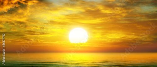 sunrise over the sea - 56374710