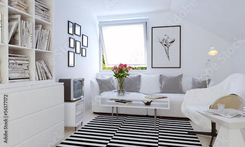 Skandinvisches Wohnzimmer Scandinavian Style Living Room Kaufen