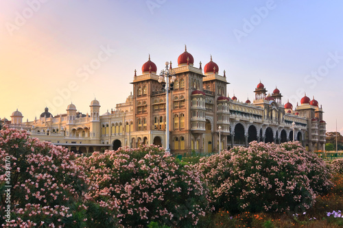 Tuinposter India Mysore Palace, India