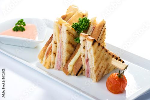 Fotografía  Sandwich toast