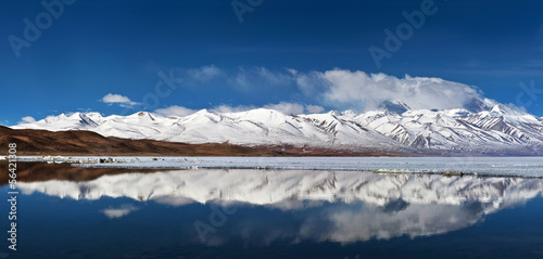 Photographie Manasarovar lake in Tibet