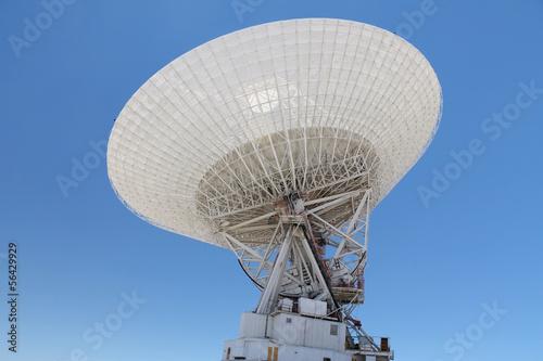 Deurstickers Nasa NASA's Goldstone 70 m Deep Space Station (DSS) - Mojave Desert