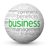 """Globe - Nuage de Tags """"BUSINESS"""" (affaires argent commerce b2b)"""