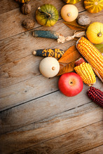 Harvest On A Table