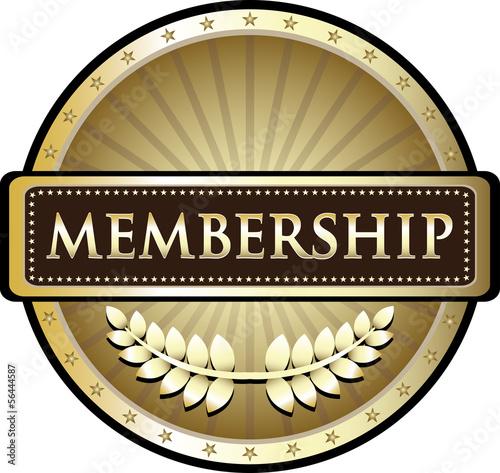 Fotografía  Membership Vintage Gold Label