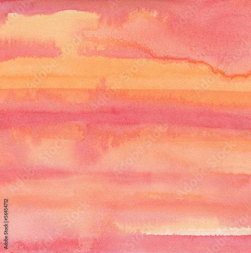 fototapeta na ścianę Abstrakcyjne tło akwarela