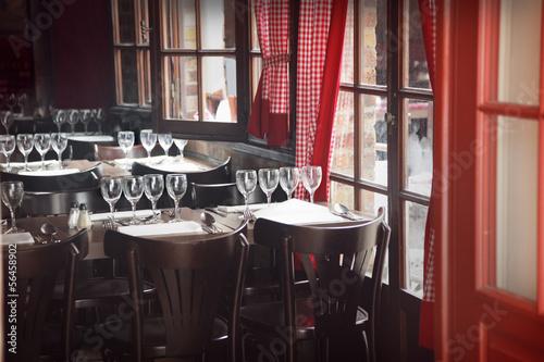 Restaurant interior #56458902
