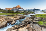 Beautiful nature at Logan Pass, Glacier National Park, MT