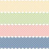Banner Punkt Muster - endlos