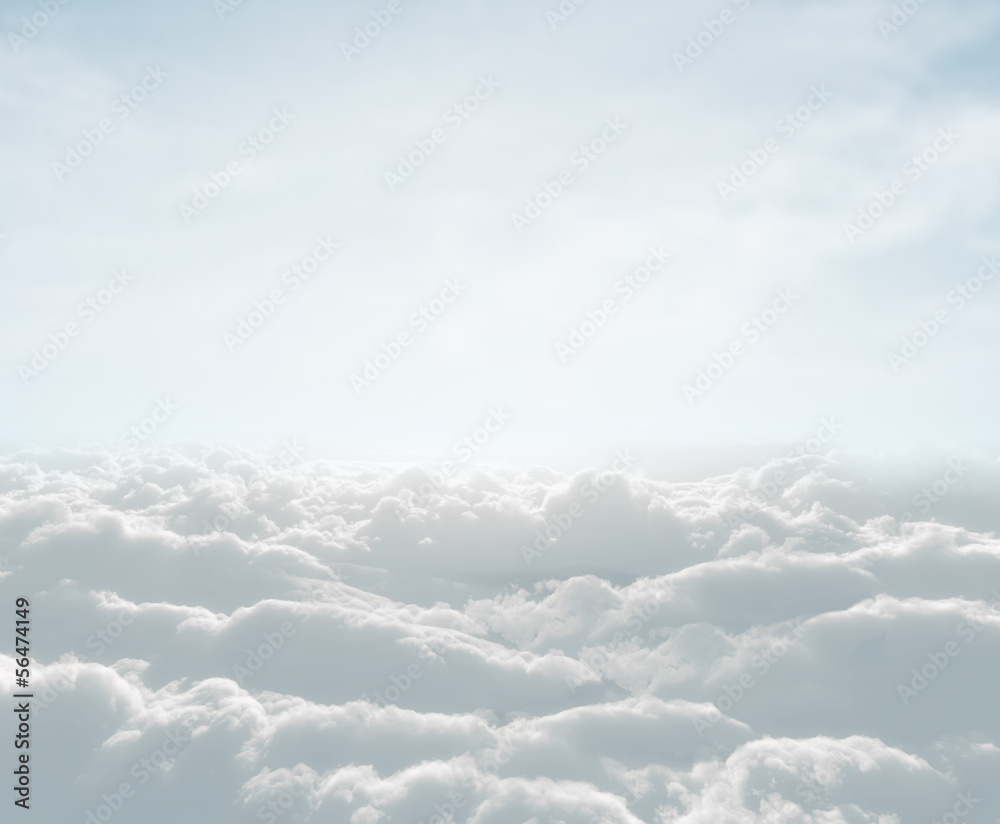 Fototapeta high definition skyscape with clouds