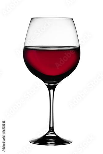 Fényképezés Bicchiere di Vino Rosso